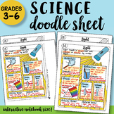 Light Doodle Notes Sheet - So Easy To Use! PPT Included!