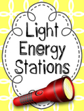 Light Energy Stations, Light Energy Investigations, Light Energy Labs