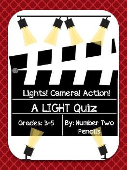 Light Energy-A Summative Assessment