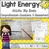 Light Energy Articles, Flip Books, Questions, and Assessment Distance Learning