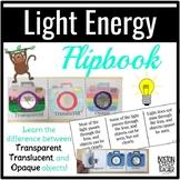 Light Energy FLIPBOOK: Transparent, Translucent, and Opaqu