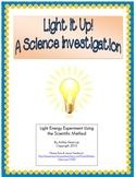 Light Energy Experiment Using the Scientific Method/Process