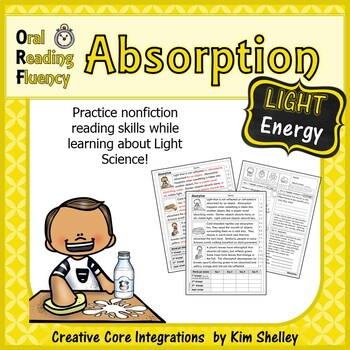 Light Energy Nonfiction Fluency - Absorption