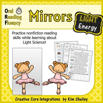 Light Energy Nonfiction Fluency - Mirrors