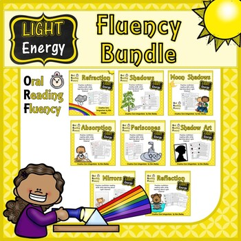 Light Energy Nonfiction Fluency Passages BUNDLE