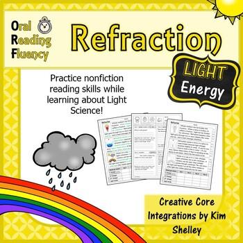 Light Energy Nonfiction Fluency - Refraction