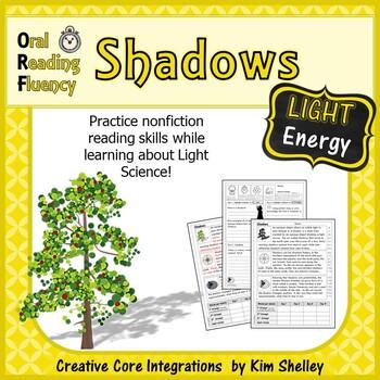 Light Energy Nonfiction Fluency - Shadows