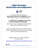 Light Energy: Reflection Investigations