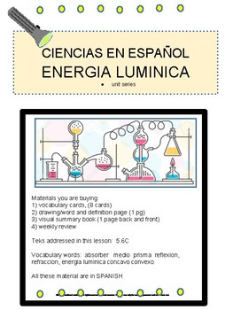 Light Energy- SPANISH