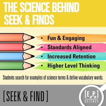 Light Energy Seek and Find Science Doodle Page