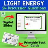 Light Energy: Talk and Trade Task Cards
