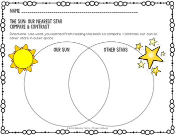 Light Energy: The Sun Our Nearest Star {A Read About Science Resource}