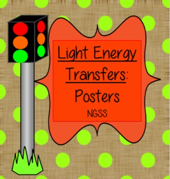 Light Energy Transfers -Cheat Sheets/Printables