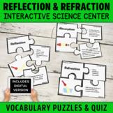 Light Energy Vocabulary Puzzles