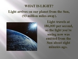 Light Energy - What makes color? Powerpoint