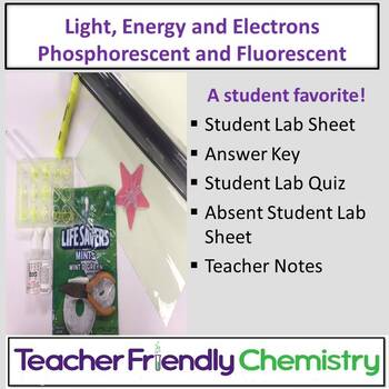 Chemistry Lab: Light, Energy and Electrons