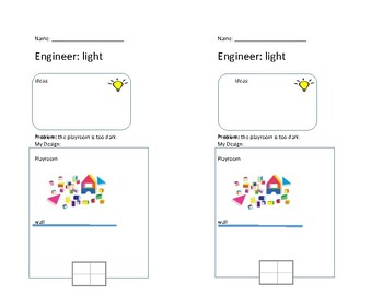 Light Engineering Project half-sheet