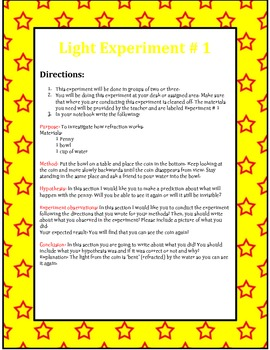 Light Experiment Centers