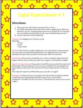 Light Experiment Centers