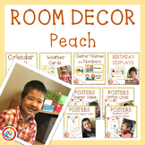 Simple and Time Saving Peach Colored Room Decor