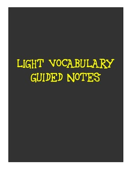 Light Guided Notes