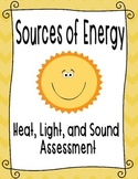 Light, Heat, and Sound Assessment