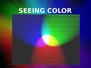 Light: How we see color- rod and cone cells