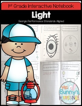 Light Interactive Notebook (1st Grade)
