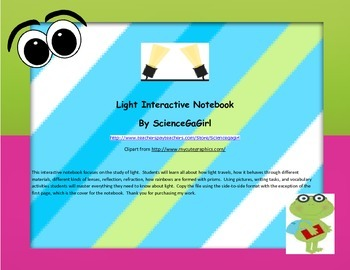 Light Interactive Notebook Revised