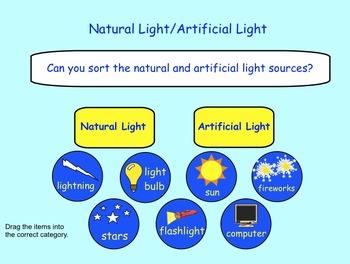 Light: Interactive SMARTboard Activities for Gr. 3 - 4