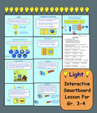 Light: Interactive SMARTboard Activities for Gr. 3 - 4