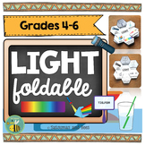 Light Energy-Interactive Science Notebook foldable