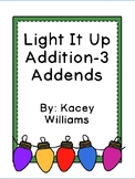 Light It Up Addition-3 Addends