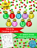 #hotwinter Light It Up: No Prep Christmas Articulation