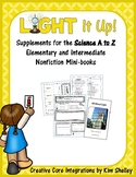Light It Up - Science A to Z Mini book Supports