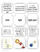Light It Up - Vocabulary 4-Part Game Cards