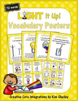 Light It Up - Vocabulary BUNDLE