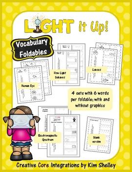 Light It Up - Vocabulary Foldables