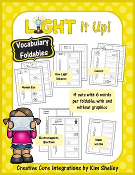 Light It Up - Vocabulary Foldables