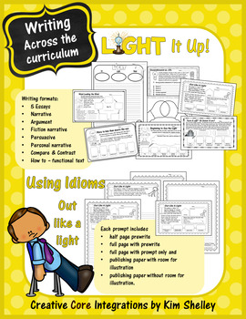 Light It Up - Writing Idioms and Persuasive