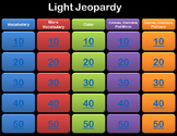 Light Jeopardy