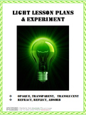 Light Lesson Plans and Experiment
