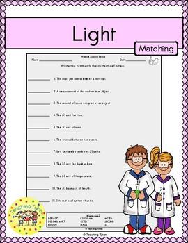 Light Matching