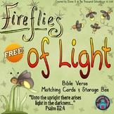 Light Memory Verse Matching Cards & Box  {FREEbie} - TPT F