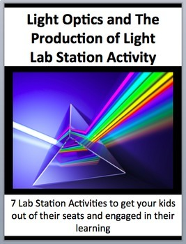 Light Optics and its Production - 7 Engaging Lab Station Activities