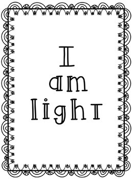 Light Or Heavy? File Folder Game