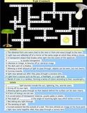 Light PDF Wordsearch, Definition Match, Crossword Puzzle