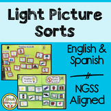 Light Picture Sorts in English and Spanish