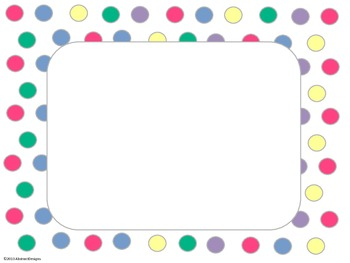 Light Polka Dot Signs