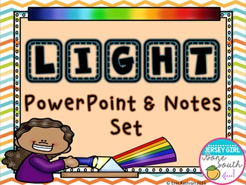 Light PowerPoint and Notes Set